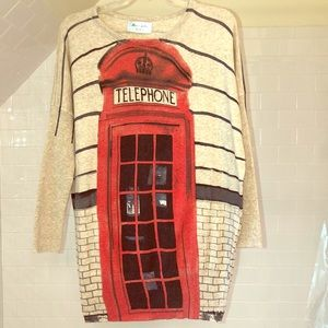 Telephone booth Sweater